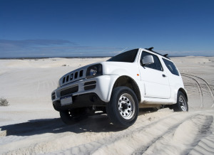 This stock Jimny did a few outings finding it's limits