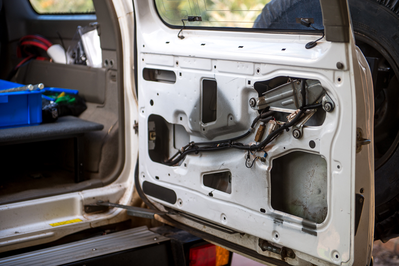A Different Nissan Patrol Rear Door Table