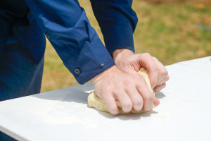 kneading-dough-camp-oven