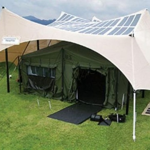 GEAR ENVY: Solar Tents!