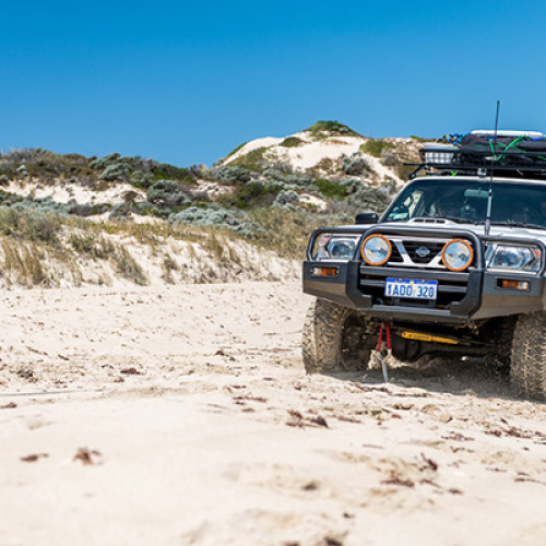 Is this the most difficult terrain you'll ever drive?