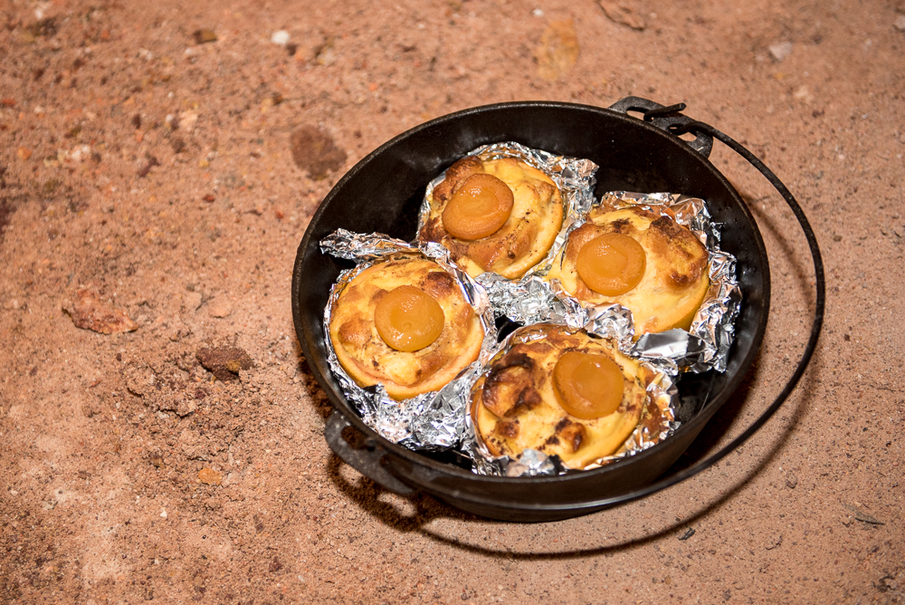 Camping Recipe Croissant Puddings