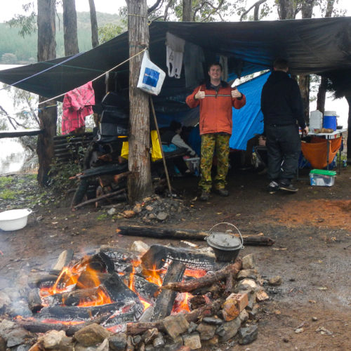 Camping At Wellington Dam