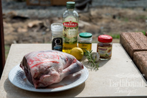 Lamb Roast Ingredients