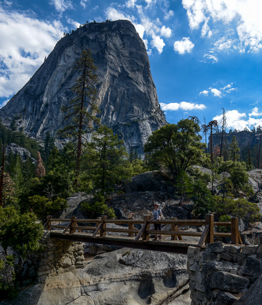 Stunning landscapes in Yosemite