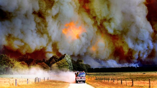 Black Saturday bushfires stretched the entire countries fire resources to the limit