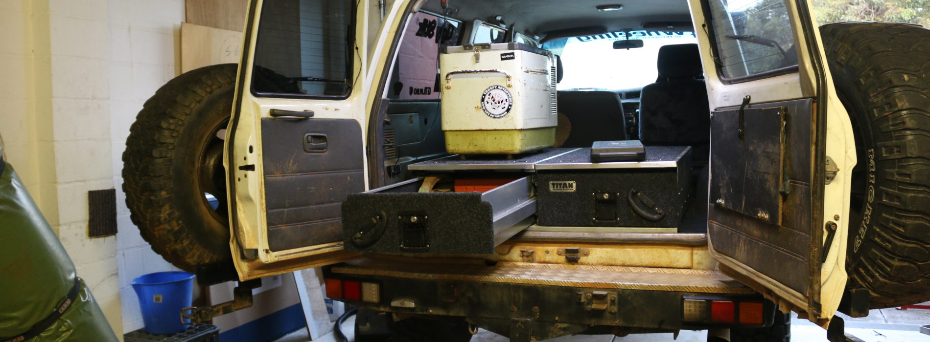 4WD Supa Center TITAN rear drawers: Review